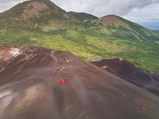 Volcano sliding tour in Nicaragua Fototapete