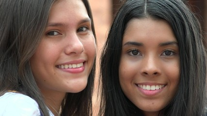 Pretty Faces Smiling Diversity