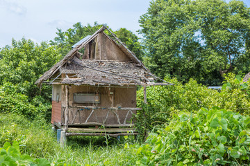 Wooden houses Thailand