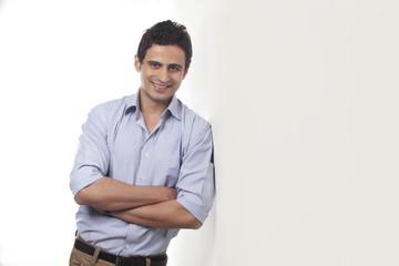 Portrait of a man smiling