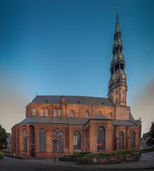 Wall Mural - St. Peter's is a Lutheran church in Riga, the capital of Latvia.