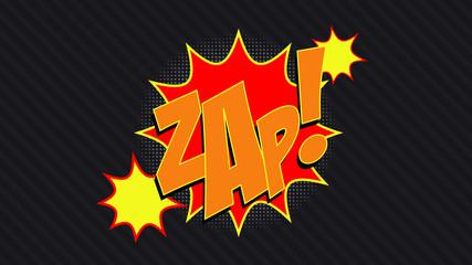 ZAP! Comic Book Bubble
