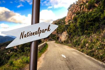 Schild 253 - Nationalpark