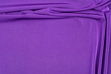 fabric silk texture. background. purple