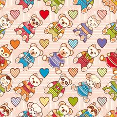 Child toy seamless pattern. Design element