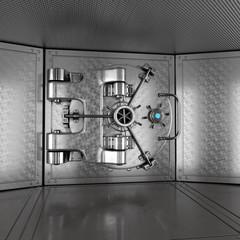 Bank  Vault Door Closed