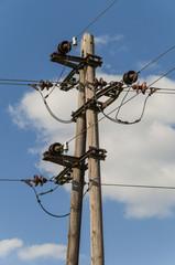 Transmission tower old