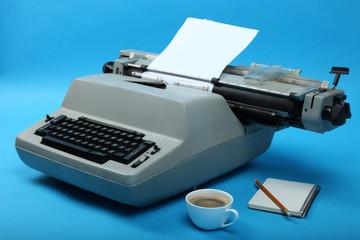 Old typewriter.