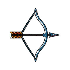 Arch bow arrow