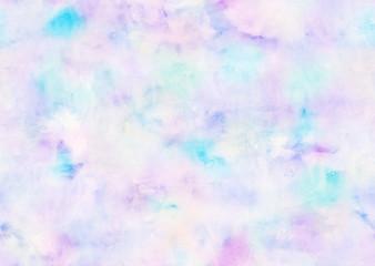 Subtle light violet blue watercolor background - seamless texture.