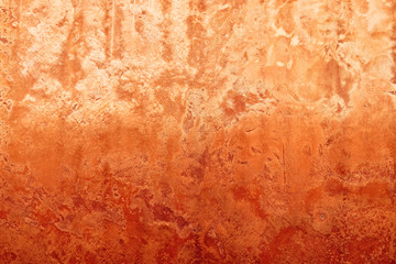 Grunge red wall cement texture or background