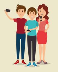 smartphone addiction concept modern lifestyle