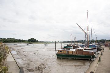 Sutton hoo across River Deben Suffolk
