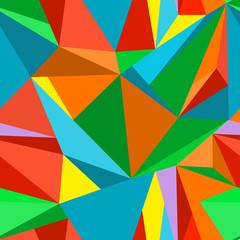 Bright seamless polygonal pattern 1