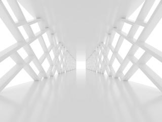 Biały tunel 3D