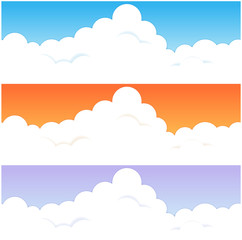 入道雲のパターン