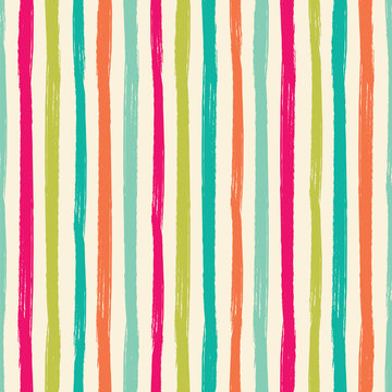 Seamless vector pattern with vertical stripes.