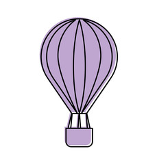 balloon air hot icon vector illustration design