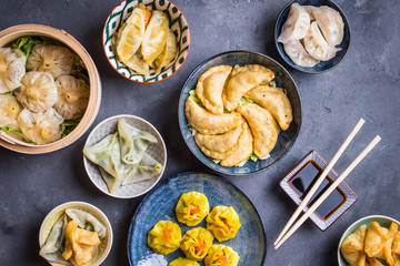 Wall Mural - Dim sum assorted