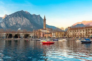 Sunset in Lecco
