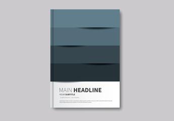 Geometric Book/Report Cover 7