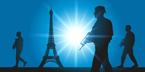Vigipirate - sécurité - attentat - terrorisme - Paris - militaire