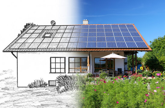 Hausbau, Planung und Umsetzung