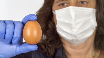 Verseuchte Eier.