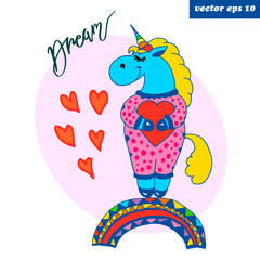 colored dream bigger unicorn