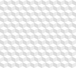 Abstract seamless pattern from the isometric cubes.