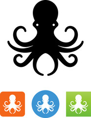Octopus Icon - Illustration