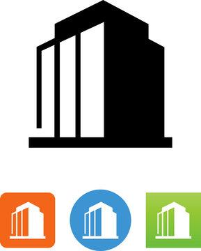 Office Building Icon - Illustration