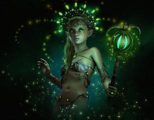 Green Lumi, 3d CG