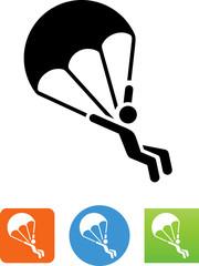 Parachute Icon - Illustration