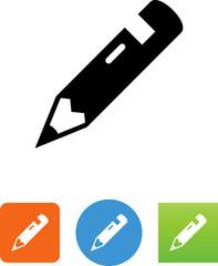 Pencil Icon - Illustration