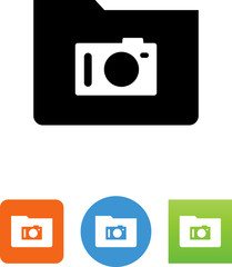 Photo Directory Icon - Illustration