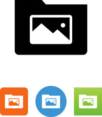Picture Directory Icon - Illustration