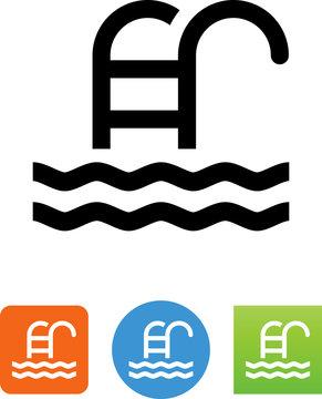 Pool Icon - Illustration