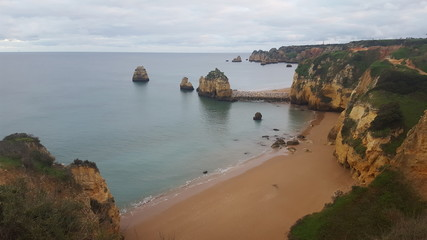 Landscapes of Lagos Algarve portugal