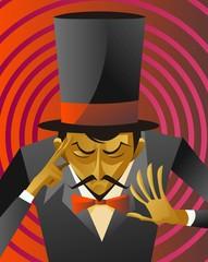 magician hypnotize reading minds magic trick