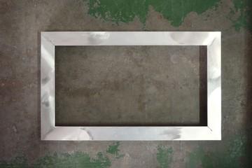 aluminum picture frame