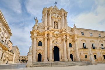 Duomo di Siracusa, Italia Fototapete