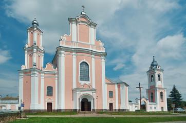 Roman catholic church . Boruna, Belarus.