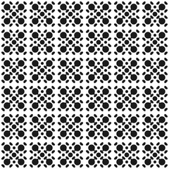 Seamless black and white pattern background abstract