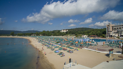 Aerial view of Duni resort, Bulgaria