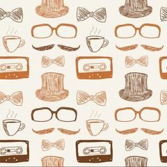 Hipster doodle