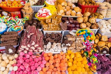 Traditional sweets in Ecuador
