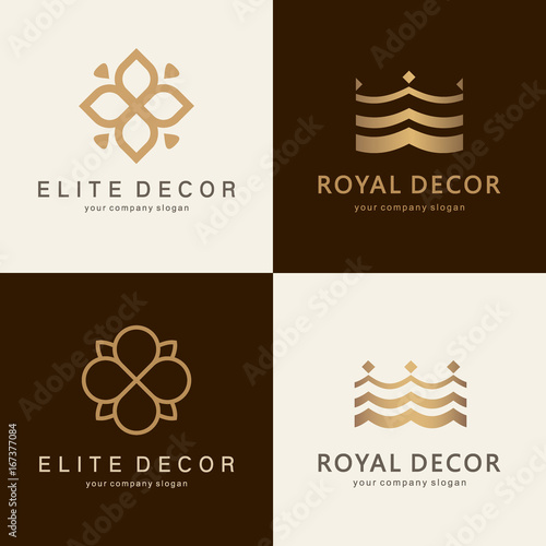 A Collection Of Logos For Interior Furniture Shops Decor Items And Home Decoration