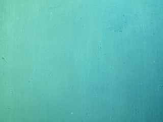 Turquoise background. Turquoise paint on metal