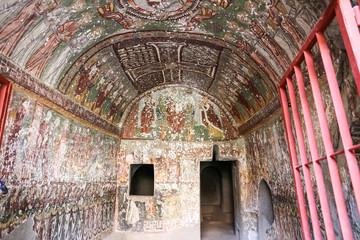 Purenli Seki Church in Ihlara Valley, Turkey